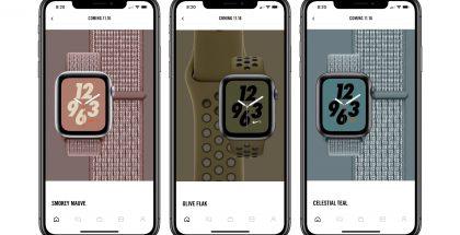 Uusia Apple Watch Nike+ -rannekevärejä.