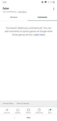 Google-sovelluksen 8.55-beetatestiversion syövereistä löytyy jo viittaus uuteen kommentointimahdollisuuteen.