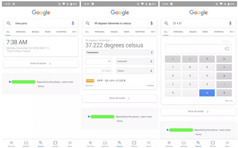 Google ei tarjoa enää englanninkielisissä mobiilihauissa enää välttämättä lainkaan linkkejä.