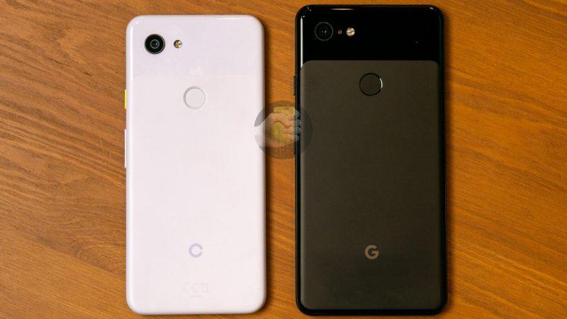 """Google """"Pixel 3 Lite"""" vs. Google Pixel 3 XL."""