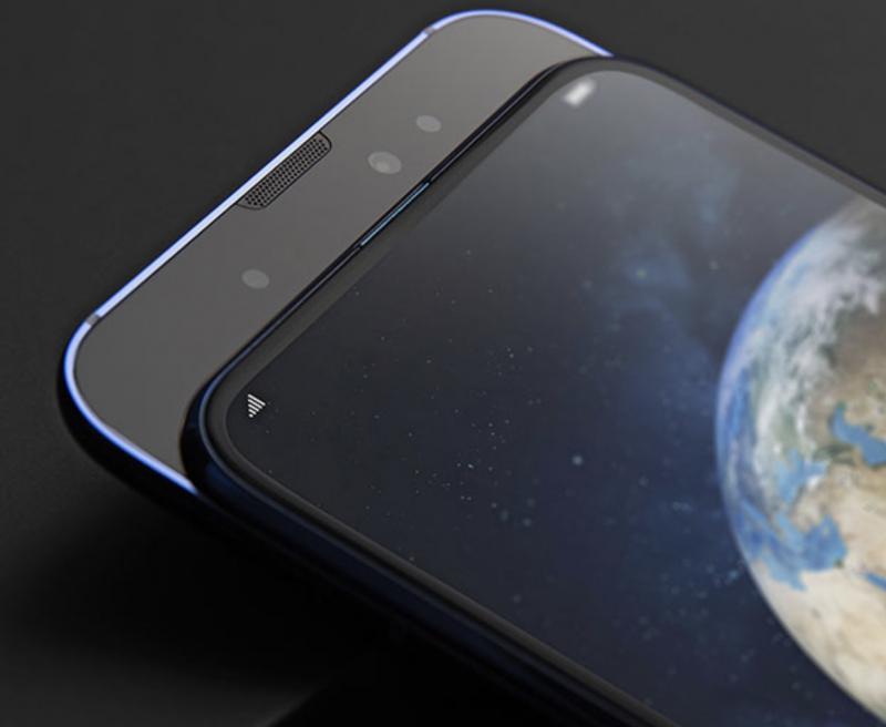 Honor Magic 2:n etukamerat paljastuvat puhelimen etupäästä rakennetta liu'uttamalla.