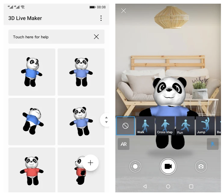 Huawei 3D Live Maker mahdollistaa elävien 3D-mallien luomisen.