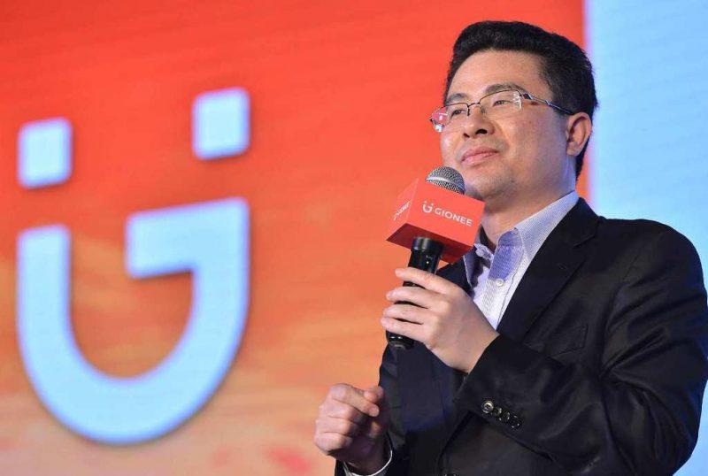 Gioneen perustaja ja hallituksen puheenjohtaja Liu Lirong.