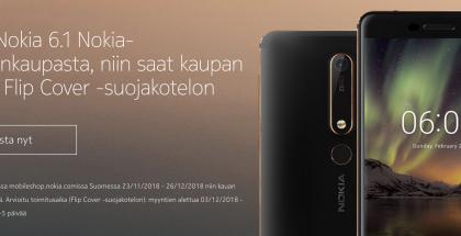 Nokia-puhelinten myyntiä yritetään vauhdittaa kaupantekijäisillä.