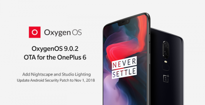 OxygenOS 9.0.2 OnePlus 6:lle.