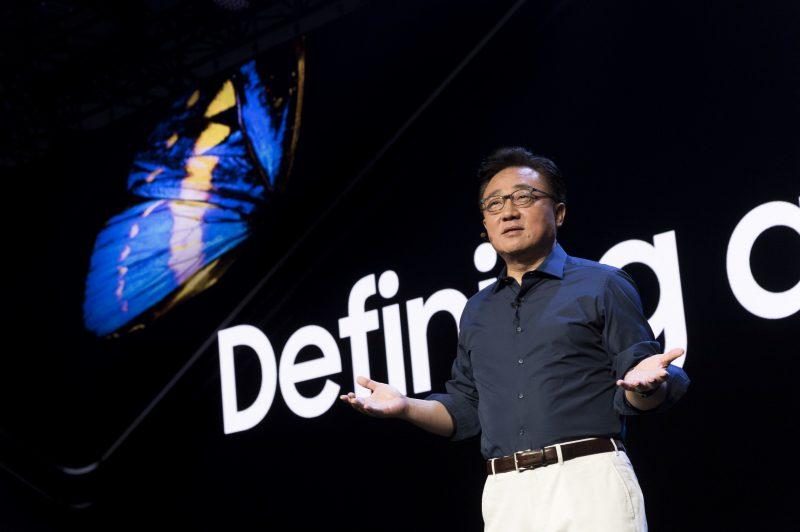 Samsungin mobiililiiketoiminnan johtaja DJ Koh.