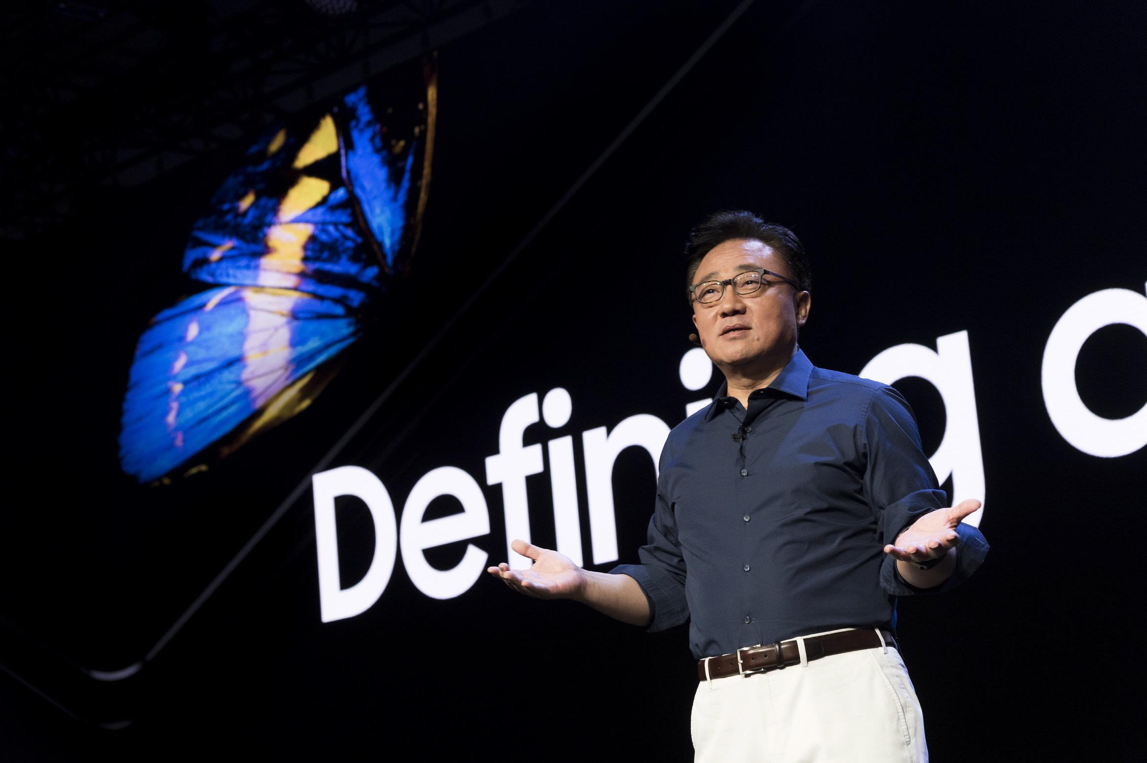 Samsungin mobiiliyksikön johtaja DJ Koh.
