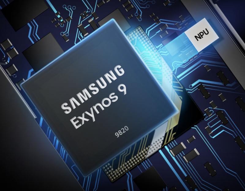 Exynos 9820 on Samsungin uusi huippuluokan järjestelmäpiiri.