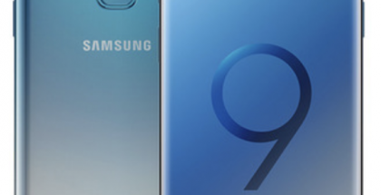 Samsung Galaxy S9 Ice Blue.