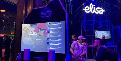 Elisa ja Hatch esittelivät pelaamista 5G-verkon yli joulukuun alun Slush-tapahtumassa.