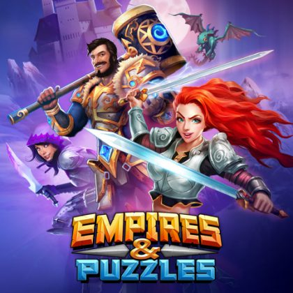 Empires & Puzzles on ollut Small Giant Gamesin hittipeli.