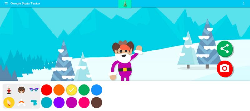 Googlen joulusovelluksessa voi nyt luoda oman tonttunsa.