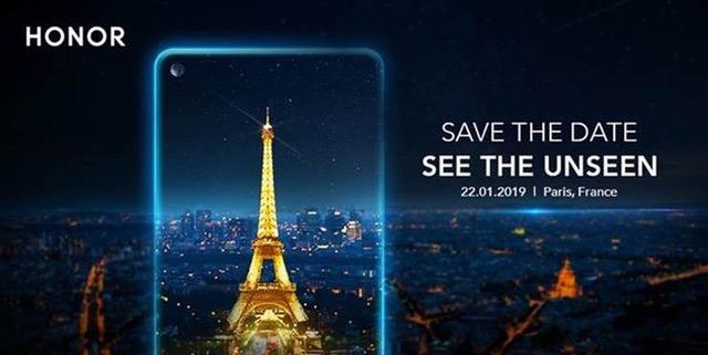 Euroopassa Honor julkistaa uuden puhelimensa nimellä View 20 tammikuun 22. päivä.