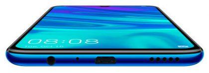 P Smart 2019:stä löytyy Micro-USB- ja 3,5 mm -liitännät.