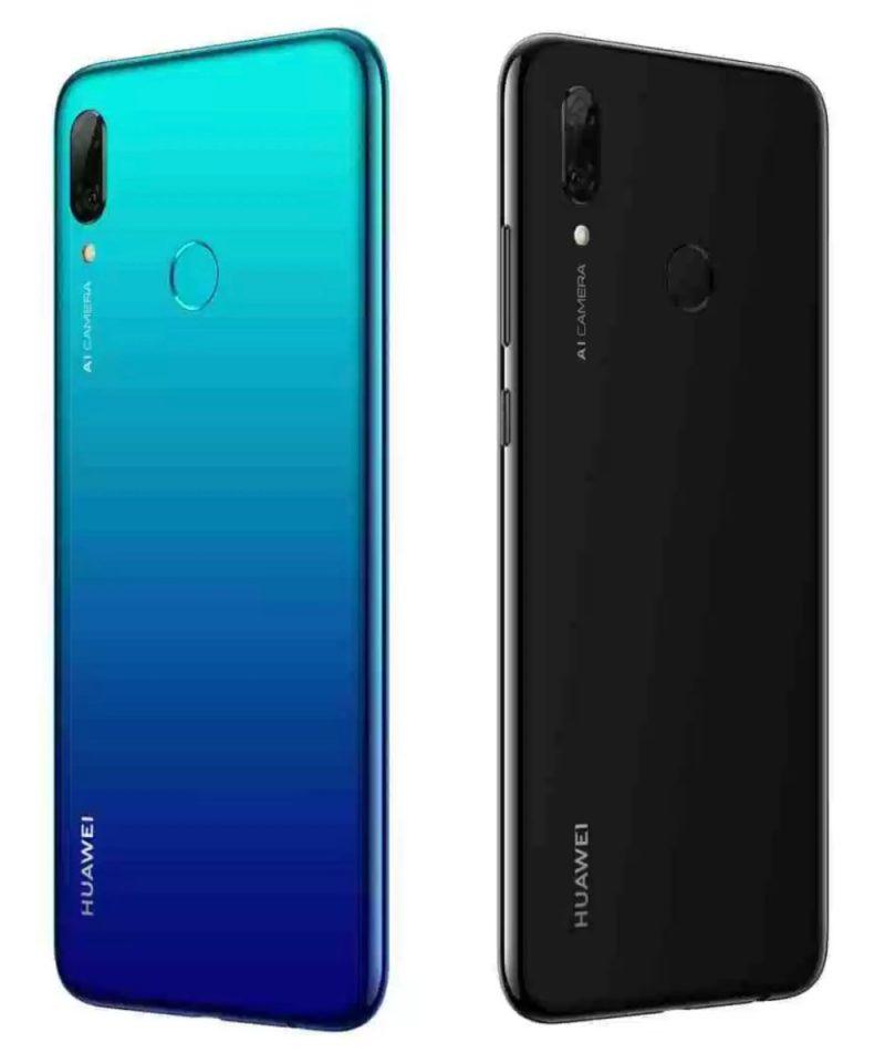 Huawei P Smart 2019:n värivaihtoehdot.