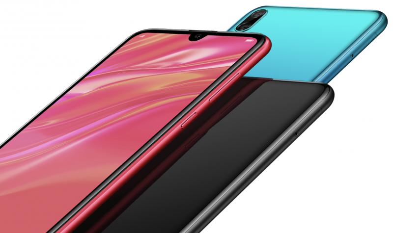Huawei Y7 Pro 2019:n värivaihtoehdot.