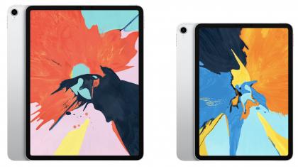 12,9 ja 11 tuuman iPad Pro.