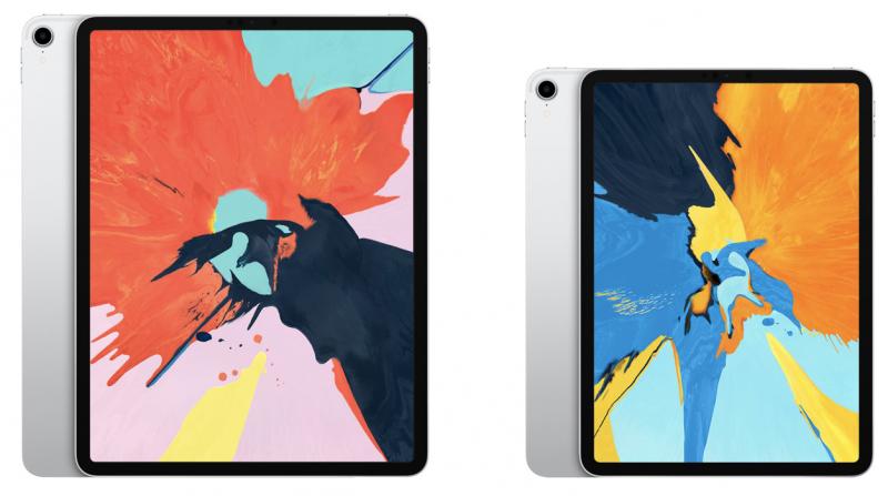 Nykyiset 12,9 ja 11 tuuman iPad Pro.