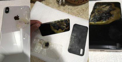 Kuvia räjähtäneestä iPhone XS Maxista. Lähde: iDropNews.