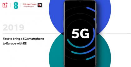 Euroopan ensimmäisen 5G-älypuhelimen pitäisi tulla OnePlussalta.