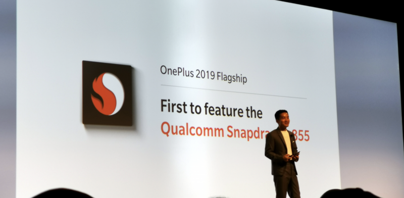 OnePlus on tuomassa markkinoille ensimmäisen Snapdragon 855 -puhelimen. Kuva: xda-developers.