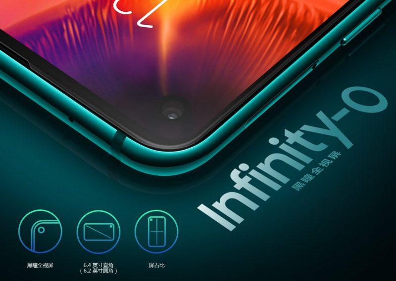 Samsung markkinoi näyttöä Infinity-O-nimellä.