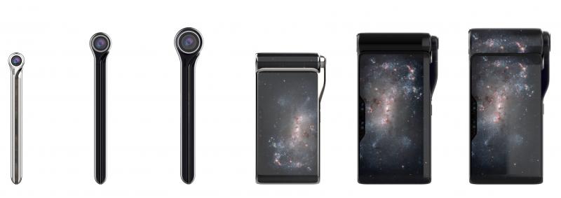 Turing HubblePhonen konseptikuvia.