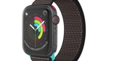 Applen työntekijöille palkinnoksi tarjottava erikoisranneke Apple Watchille.