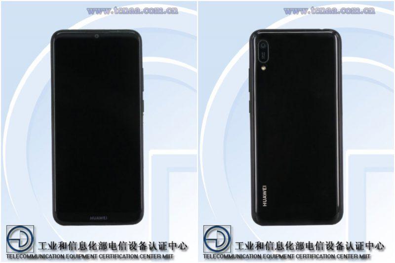 Huawei-älypuhelin mallikoodilla MRD-AL00. Kiinalaisviranomaisen TENAAn kuva.