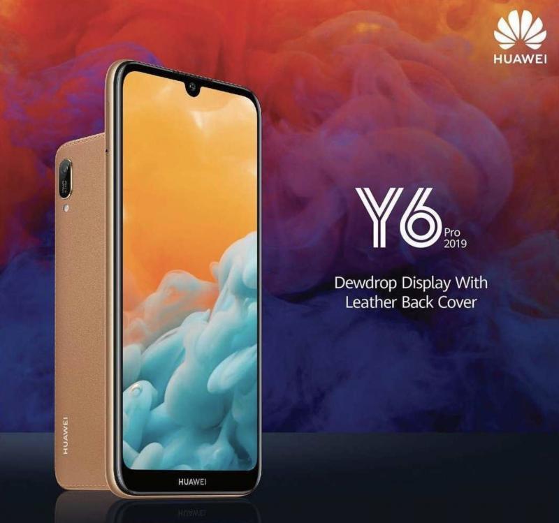 Huawei Y6 Pro 2019.