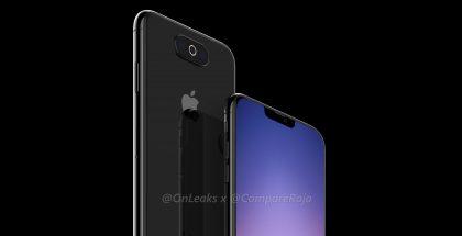 OnLeaksin yhdessä CompareRaja-sivuston kanssa julkaisema mallinnos toisesta mahdollisesta iPhonesta.