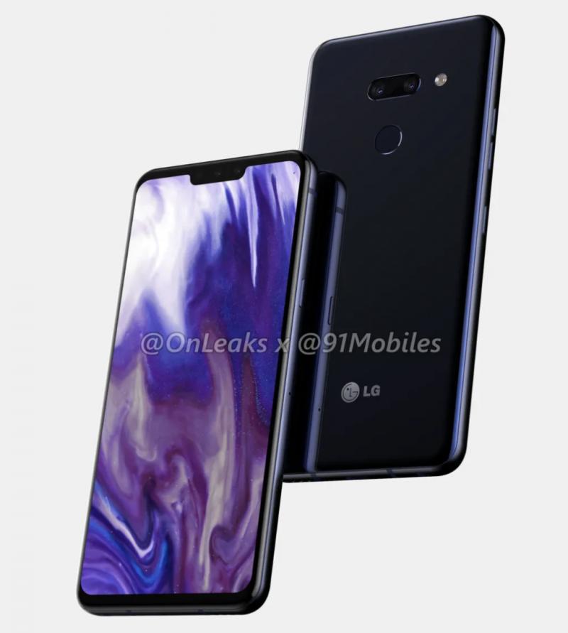 LG Alpha, todennäköisesti mallinimeltään G8, OnLeaksin yhdessä 91Mobiles-sivuston kanssa julkaisemassa kuvassa.