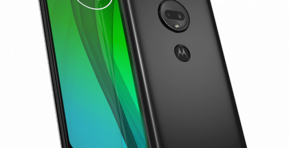 Motorola Moto G7.