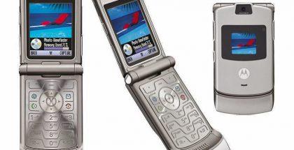 Tältä näytti alkuperäinen Motorola Razr. Uudesta mallista ei ole vielä paljastunut kuvia.