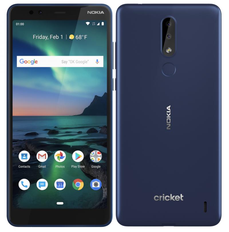 Nokia 3.1 Plus tulee myyntiin Yhdysvalloissa Cricketillä.