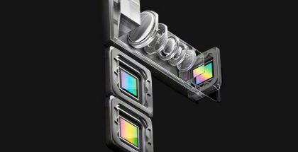 Oppon kamerajärjestelmän erikoisin osa on periskooppirakenteinen kamera.