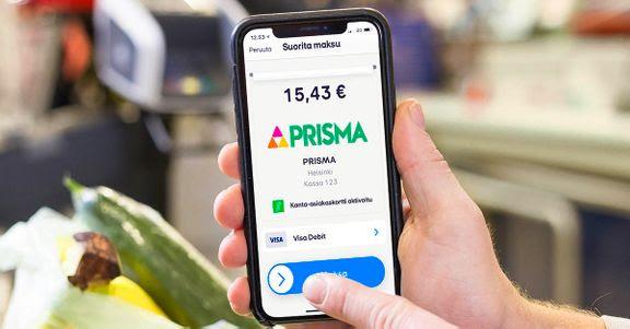 MobilePaylla voi maksaa nyt kaikissa Prismoissa.