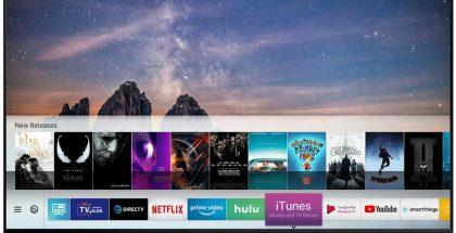 iTunes tulee sovelluksena Samsungin tuleviin ja vuoden 2018 älytelevisioihin.