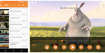 VLC Androidille.
