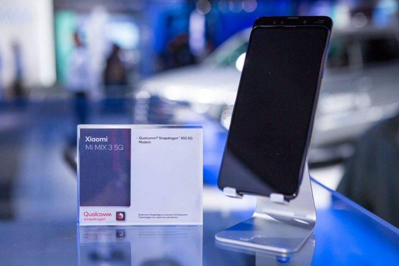 Xiaomi on esitellyt Mi MIX 3 5G -mallia jo muun muassa CES-messuilla.