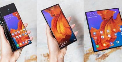 Huawei Mate X on yksi ensimmäisiä taittuvanäyttöisiä älypuhelimia. Nämä kuvat helmikuulta.