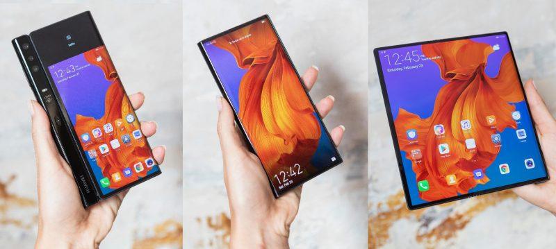 Huawei Mate X on yksi ensimmäisiä taittuvanäyttöisiä älypuhelimia.