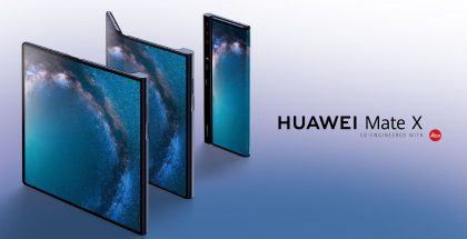 Huawei Mate X esiteltiin helmikuussa.