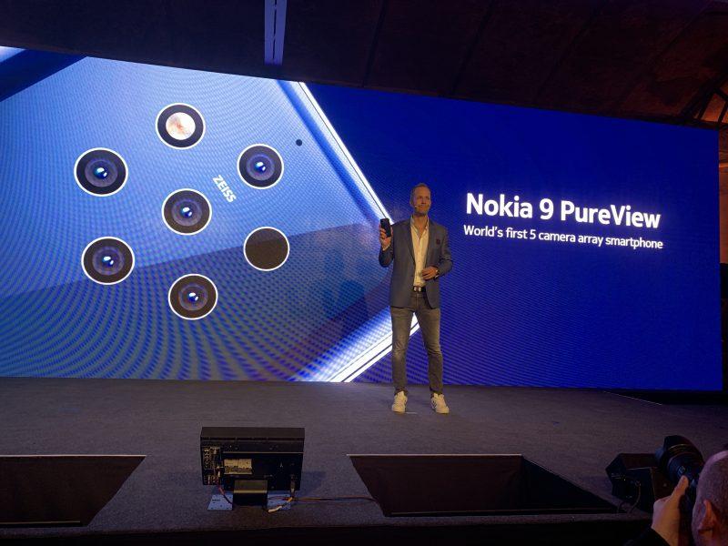 HMD Global julkisti helmikuun lopulla toistaiseksi eniten huomiota keränneen älypuhelimensa Nokia 9 PureView'n.
