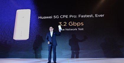 Huawei 5G CPE Pro on Huawein kotikäyttöön suunnattu reititin.