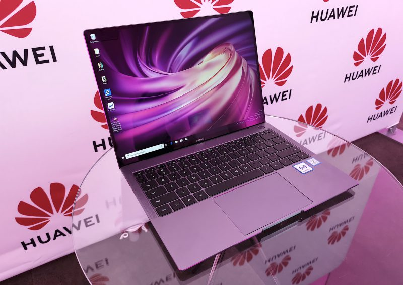 Huawei MateBook X Pro.