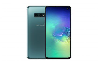 Samsung Galaxy S10e Prism Green.