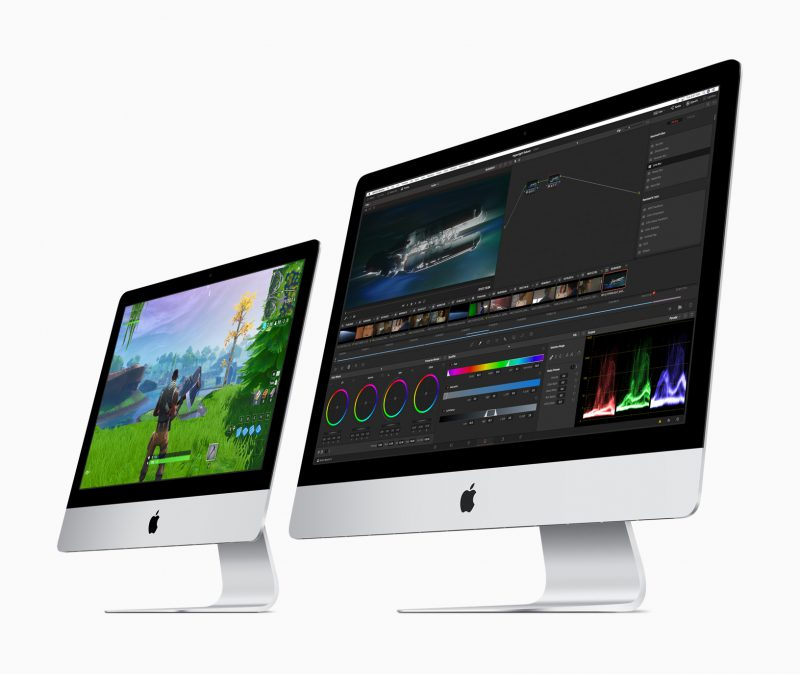Applen iMacit eivät uudistuneet ulkoisesti, mutta sisäistä tekniikkaa uusittiin.