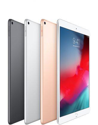 Uusi iPad Air eri väreinä.