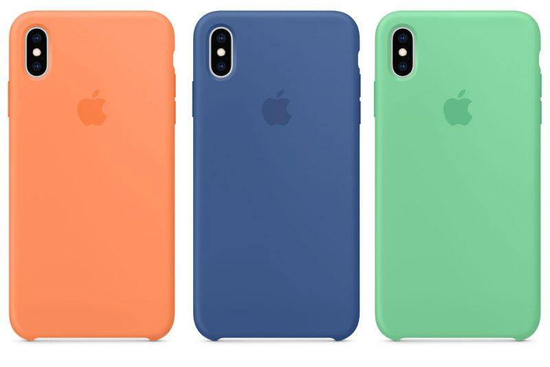 Uusia värejä iPhone XS ja iPhone XS Max -silikonikuorille.